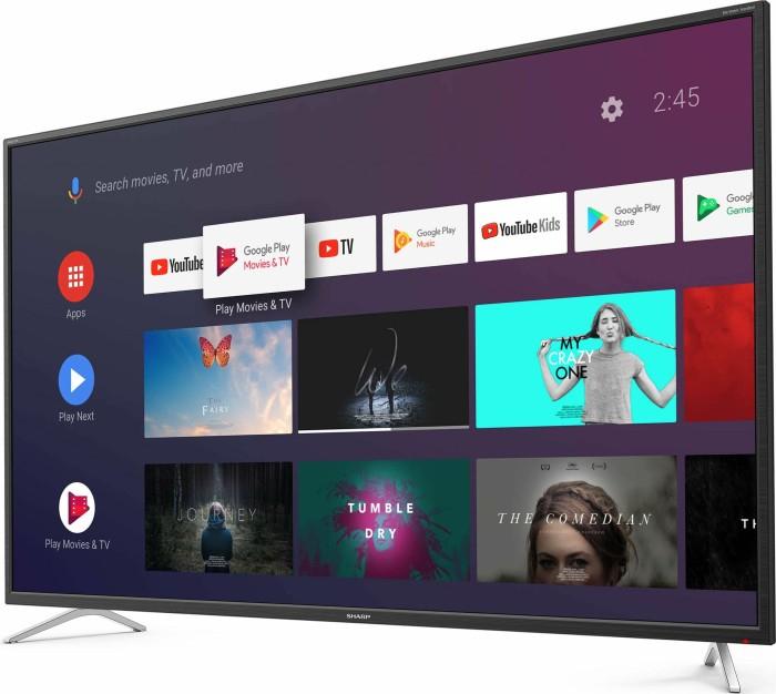 Sharp 50BL2EA Fernseher (3840x2160, 3x HDMI 2.0, Harman/Kardon Soundsystem, HDR10, HLG, Bluetooth, WLAN)