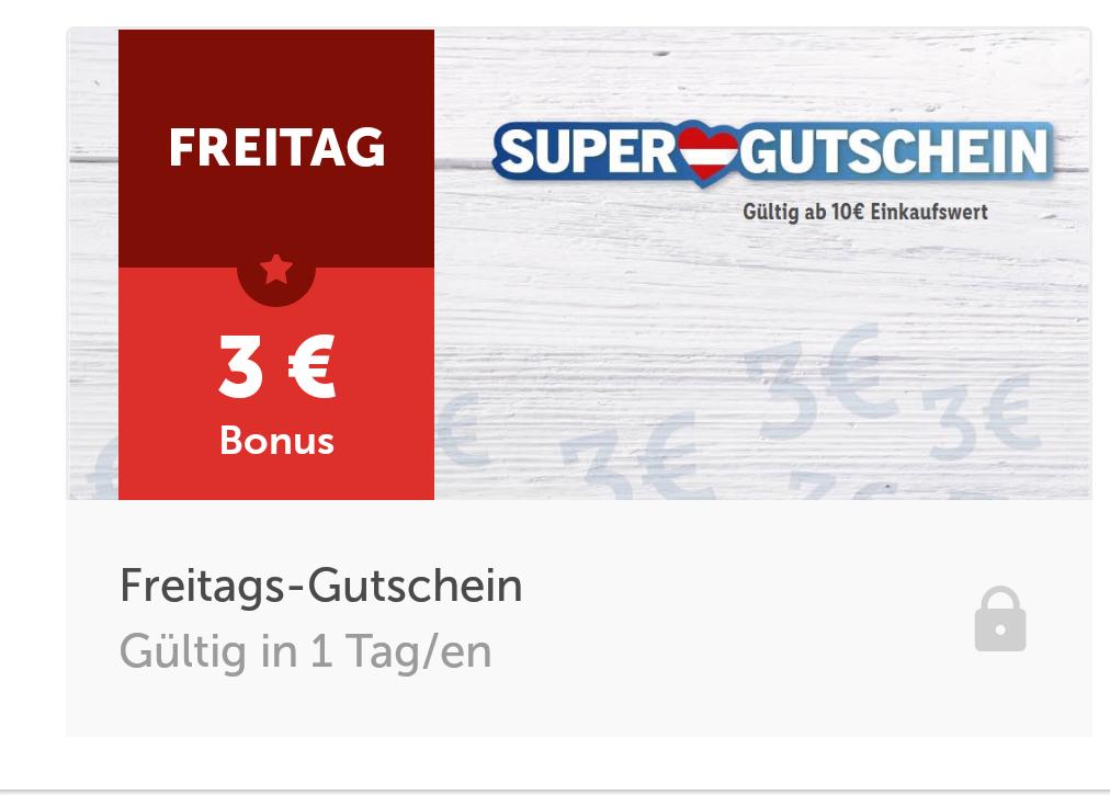 [LidlApp] 3 Euro Gutschein ab 10 Euro Einkauf