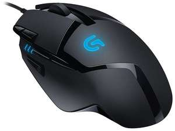 Logitech G402 Hyperion Fury Gaming Maus (4000dpi, Avago AM010 Sensor, 8 Tasten)