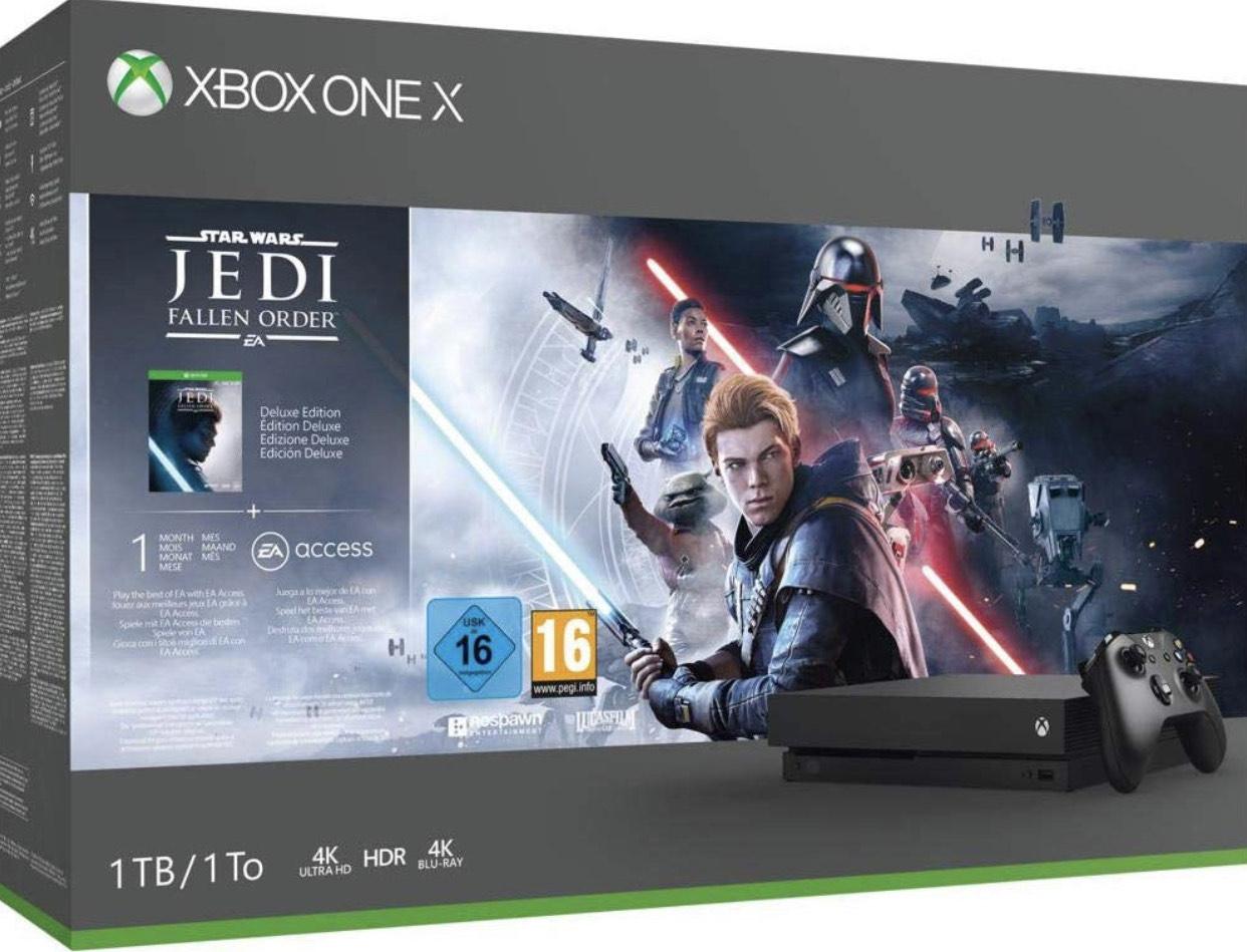 Microsoft Xbox One X - 1TB Star Wars Jedi: Fallen Order Bundle