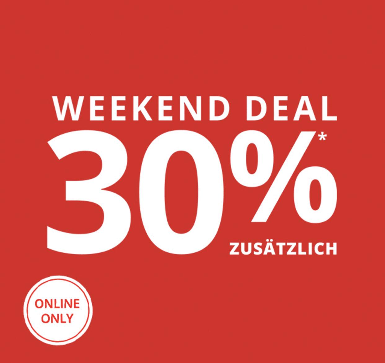 Peek&Cloppenburg: 30% Rabatt auf alle Sale Artikel