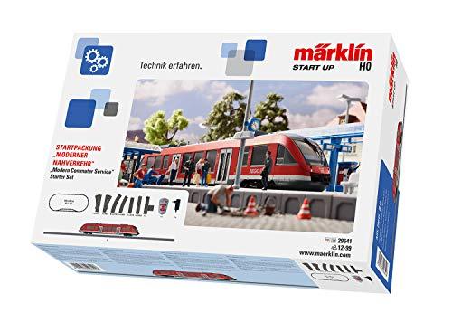 """Märklin Start up 29641 - Startpackung """"Moderner Nahverkehr"""". 230 Volt, DB AG, Spur H0"""