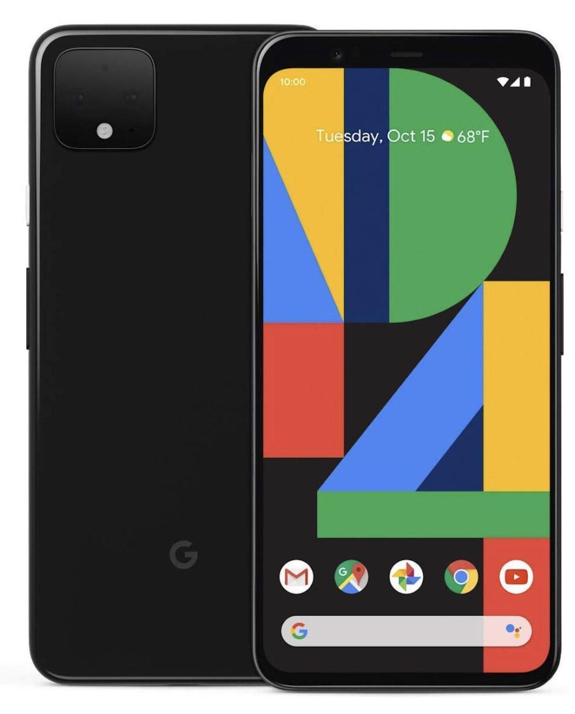 Google Pixel 4 XL 64GB in Schwarz