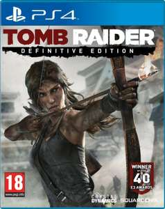 [PS4]Tomb Raider: Definitive Edition PS Store