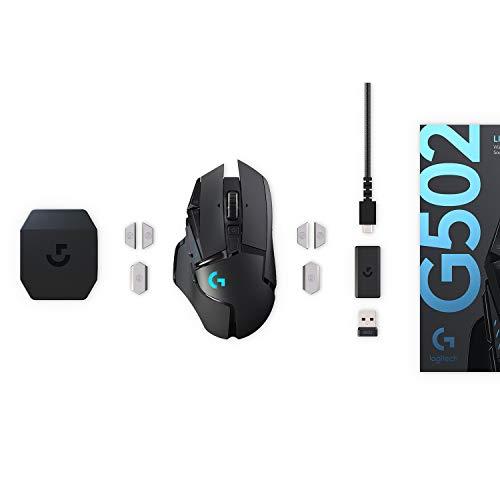 Logitech G502 Lightspeed Wireless Gaming Maus