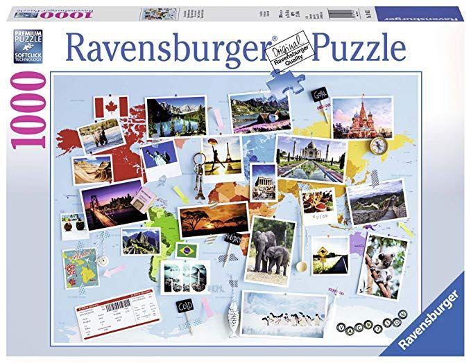 Ravensburger Puzzle - Reise um die Welt