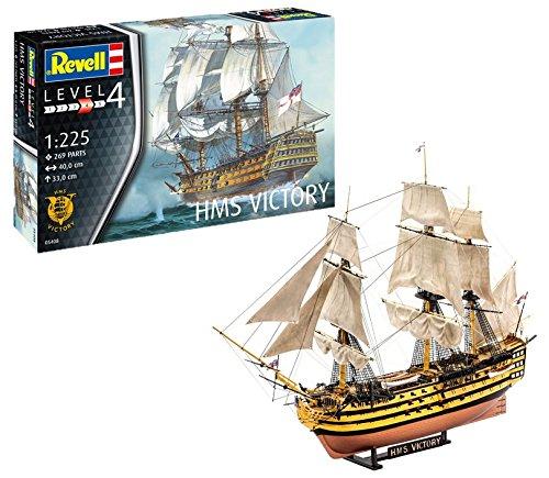 Revell HMS Victory (05408) - Modellbausatz Schiff 1:225