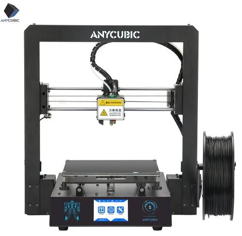 ANYCUBIC Mega-S 3D Drucker (Layerstärke 0.1mm-0.4mm, Druckgröße 210*210*205mm, Druckgeschwindigkeit 20-100mm/s)