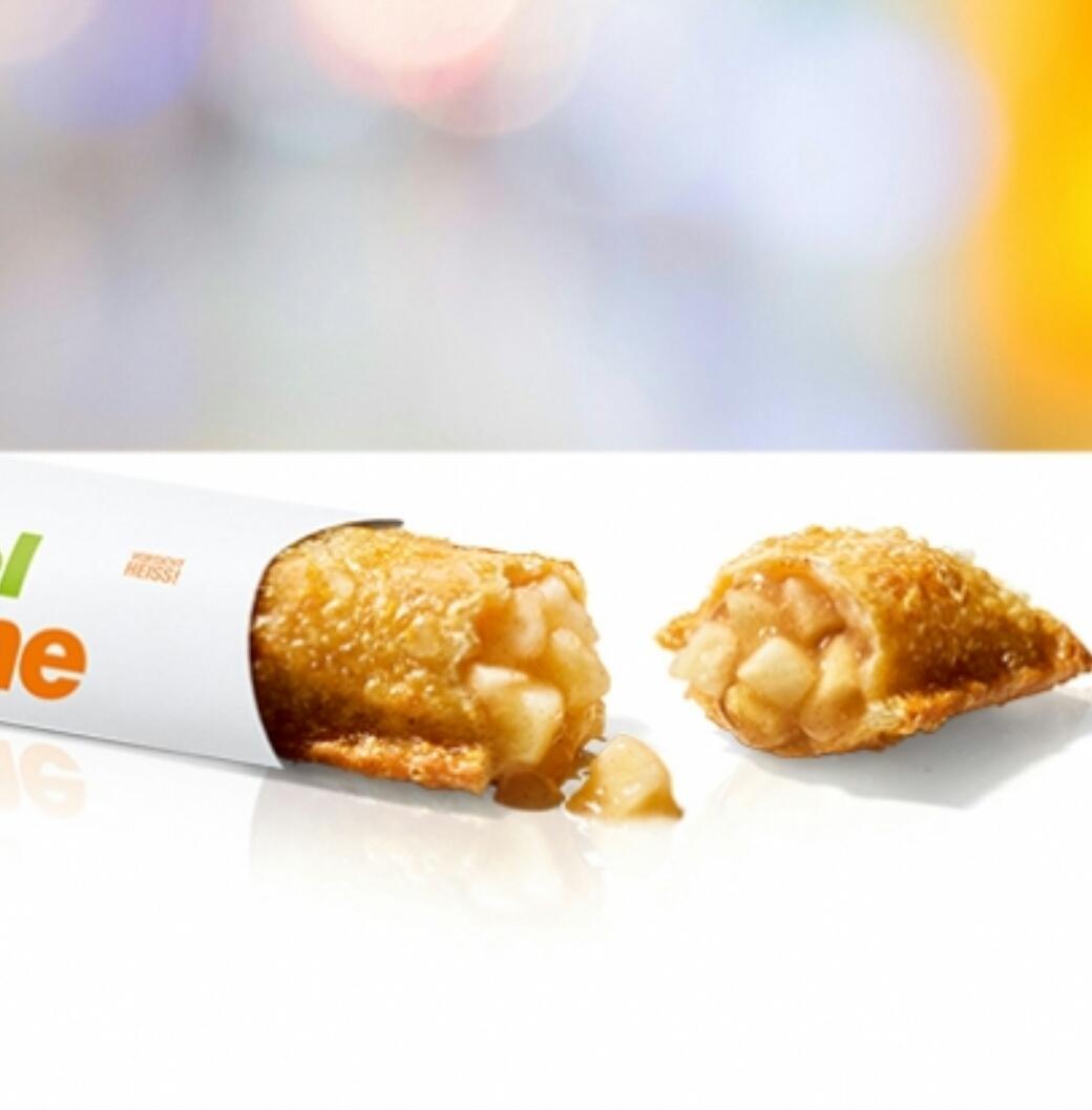 @McDonalds Gratis Apfeltasche im McDrive zu jeder Bestellung am Mittwoch