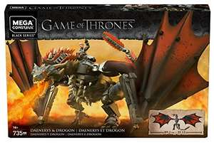 Mega Construx - Game of Thrones Daenerys und Drogon