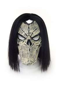 Darksiders 2 - Latex Maske Death inkl. Perücke