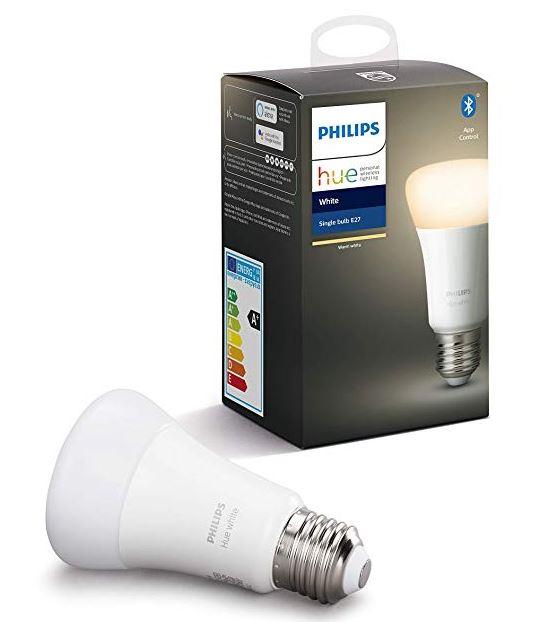 Philips Hue White E27 Einzelpack (Alexa Home)