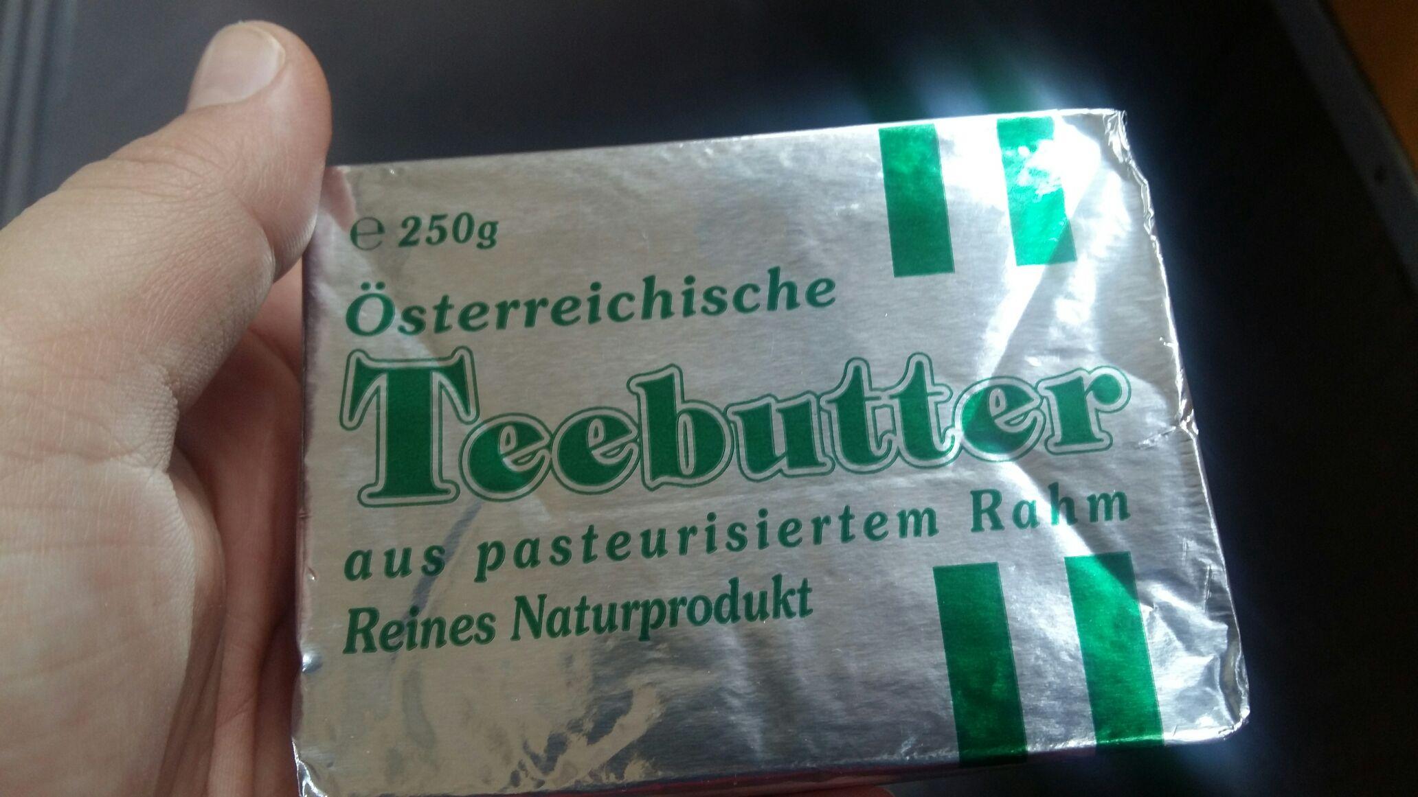 Billa Österreichische Teebutter