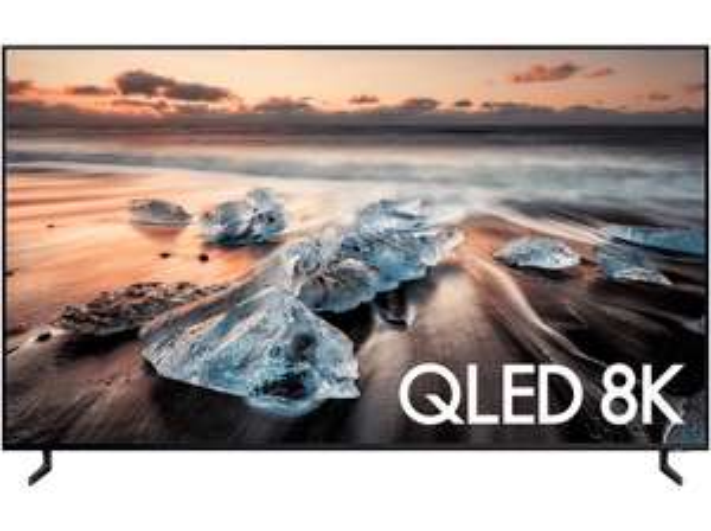 "Samsung 75"" Flat QLED TV, 8K Ultra HD"