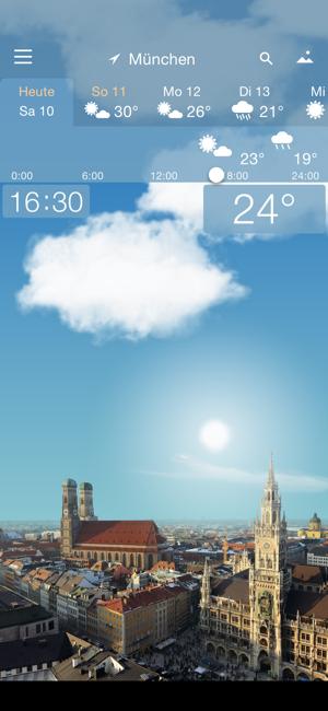 YoWindow Wetter kostenlos für iOS