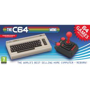 """The C64 Mini"" Spielekonsole"