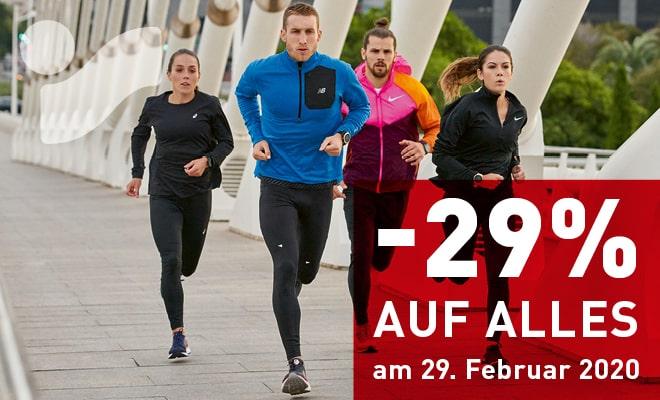 -29% auf (fast) alles bei Intersport (Tirol)