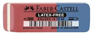 Faber-Castell 187040 - Radierer (latexfrei)