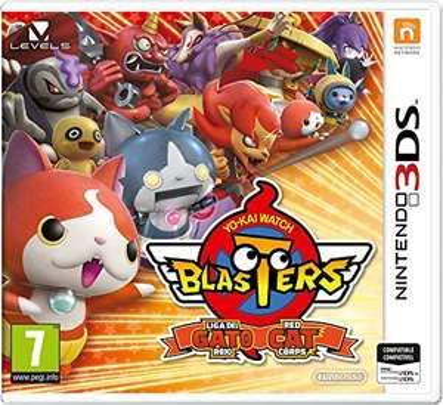 Yo-Kai Watch Blasters: Rote Katzen Kommando (3DS)
