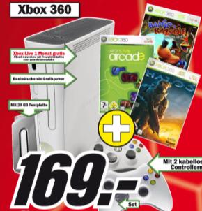"""Neues Media Markt Prospekt: Xbox Arcade Super Bundle, 26"""" TFT und mehr"""