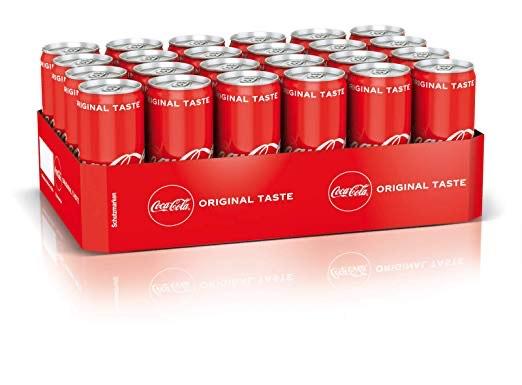 Coca-Cola Classic, Zero oder Fanta Dose 24 x 330 ml (Spar-Abo)