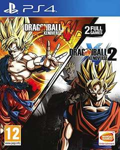 Dragon Ball Xenoverse + Dragon Ball Xenoverse 2 - Double Pack (PS4)