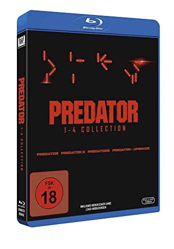 Predator 1-4 Box [Blu-ray]