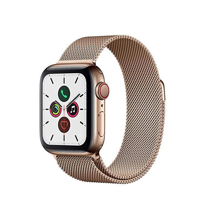 Apple Watch Series 5 (GPS+Cellular, 40 mm) Edelstahlgehäuse