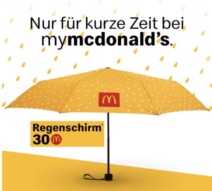 """""""Gratis"""" Regenschirm..."""
