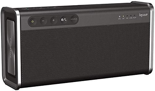 Creative iROAR Go Bluetooth Lautsprecher (Bluetooth 4.2, NFC, IPX6 wetterfest, 5-Treiber)