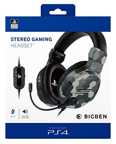 PS4 Headset Stereo V3 camo green