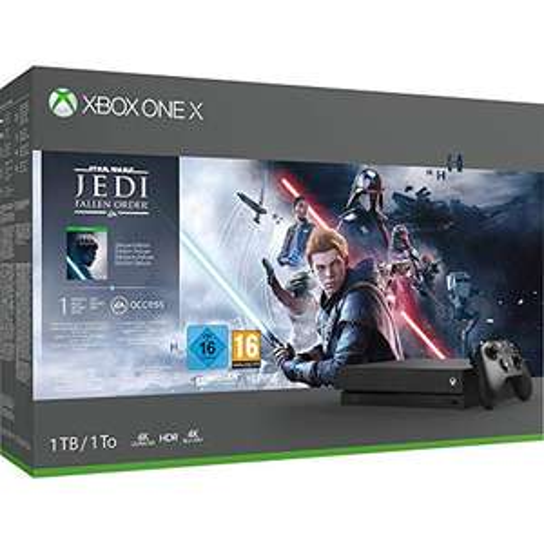 Microsoft Xbox One X - 1TB Star Wars Jedi: Fallen Order