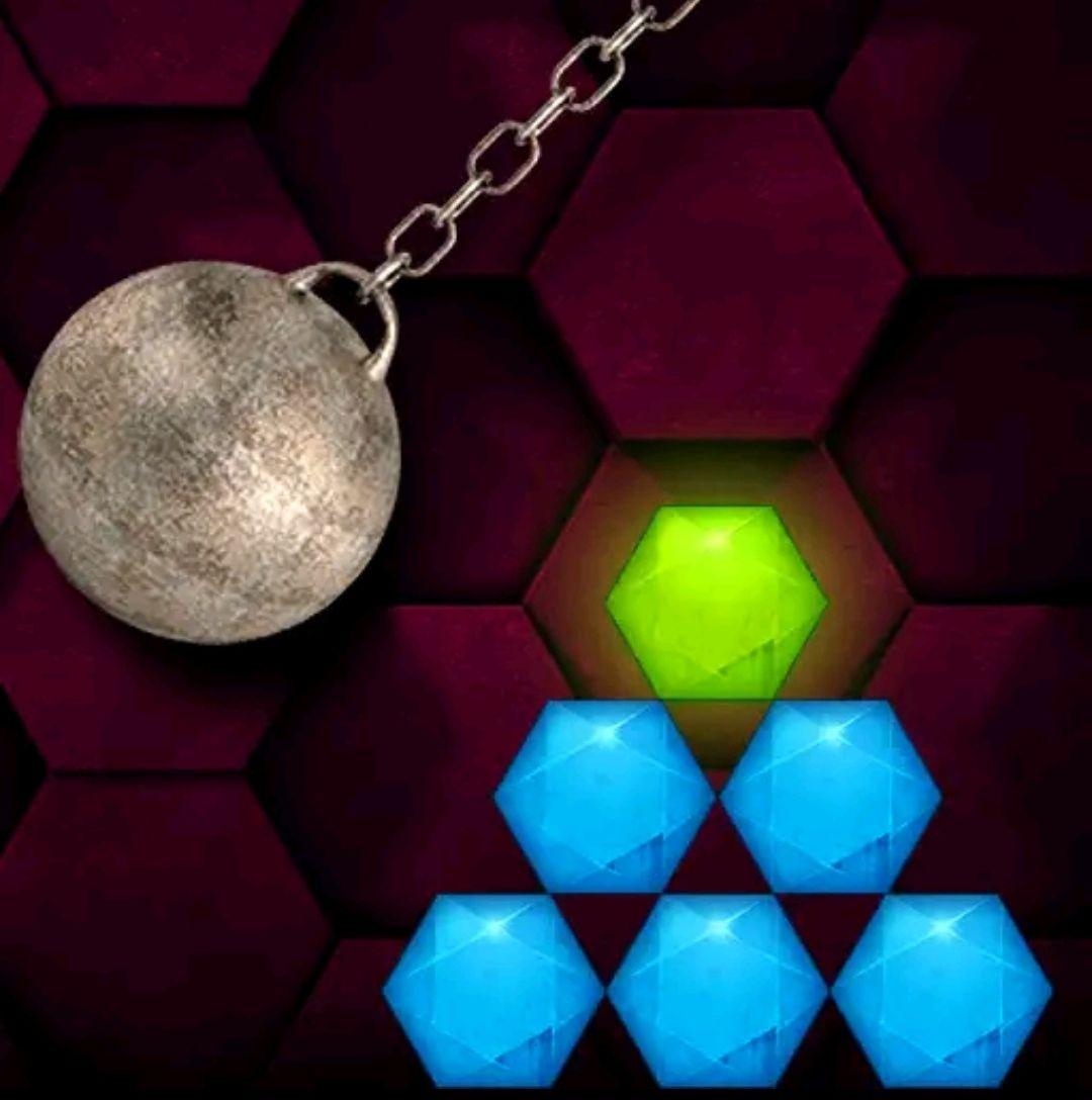 Hexasmash - Wrecking Ball Physics Puzzle