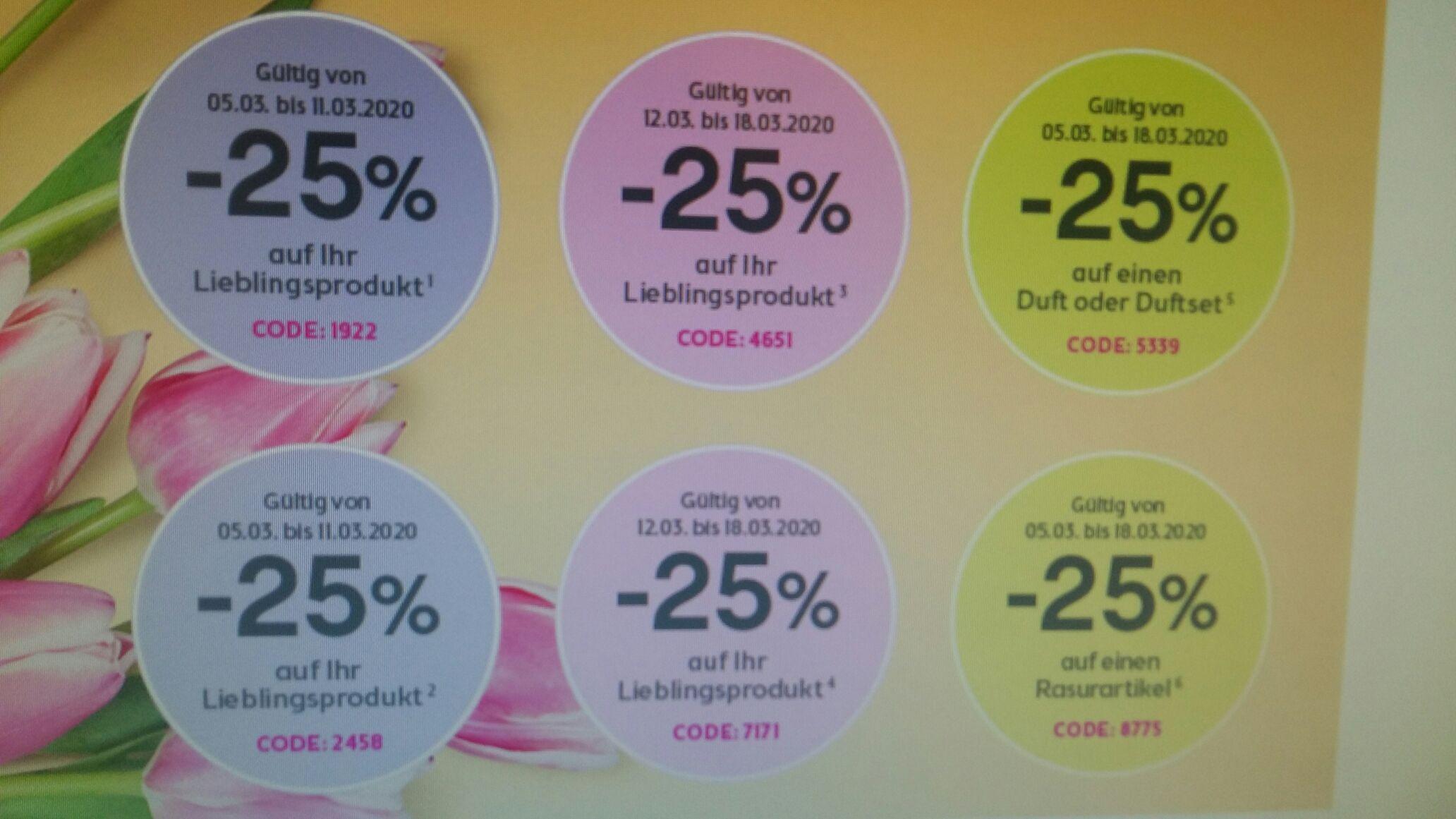 -25% Sticker bei Bipa