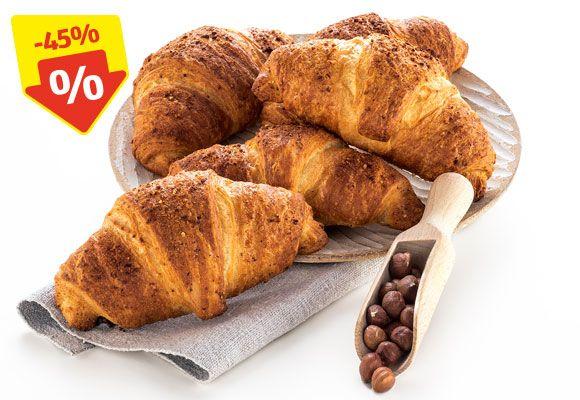 [Hofer] Crunchy Nuss-Nougat-Croissant 49 Cent, Laugenbrezel 25 Cent, Bio Fair Trade Bananen 1,29 Euro uvm