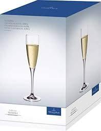 AMAZON.de l Villeroy & Boch AG Champagnerkelch Maxima Champagnerkelch klar, 4 Stück