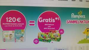 Bipa Pampers - Sammelaktion