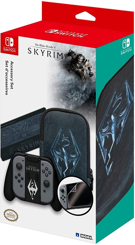 """Nintendo Switch, Limitiertes Zubehörset """"Hori - Skyrim"""""""