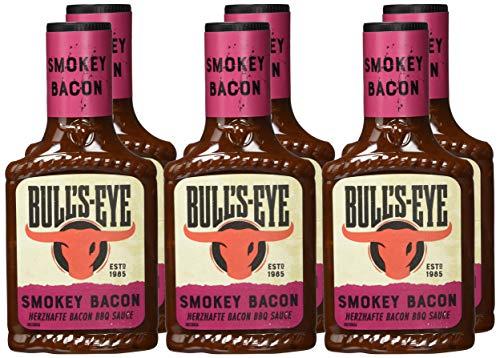 Bull's Eye Smokey Bacon BBQ Sauce, 6er Pack (6x 300 ml