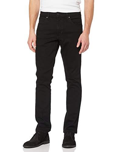 Wrangler Herren Greensboro Jeans Hose, schwarz, in vielen Größen
