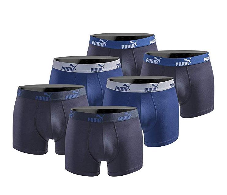 6Stk. Puma Boxershorts, verschiedene Größen und Farben