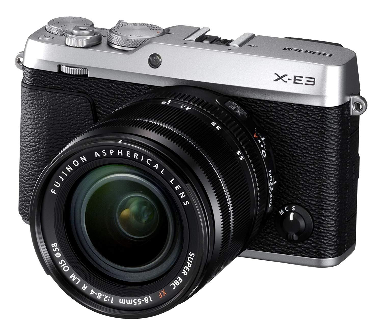 Fujifilm X-E3 mit Objektiv XF 18-55mm 2.8-4.0 R LM OIS