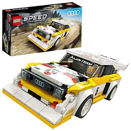 "Lego ""1985 Audi Sport Quattro S1"" Rennwagenspielzeug"