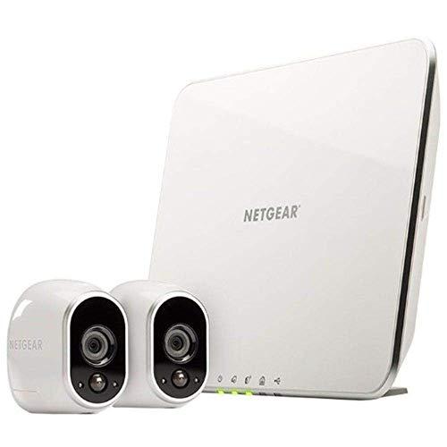 Arlo HD Smart Home 2 HD-Überwachungskameras und Sicherheitssystem 2er Set