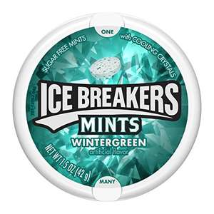 [Amazon] 8 x 42gr Ice Breakers Wintergreen zuckerfrei