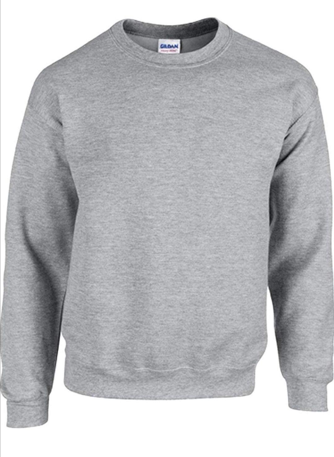 Gildan Pullover Männer grau gr.S für 1 Cent plus 1,99€ Versand