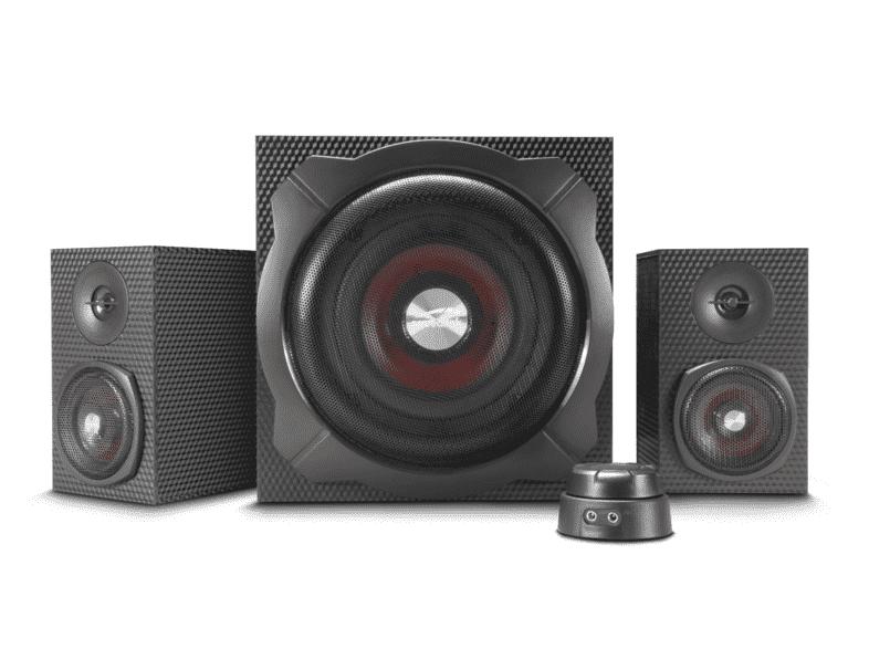 Speedlink Gravity Carbon 2.1 Bluetooth-Lautsprechersystem