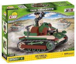 Cobi Historical Collection WW2 - TKS Tankette (2383)