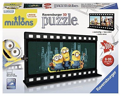 Preisjäger Junior: Ravensburger 3D Puzzle, Filmstreifen Minions, 108-teilig