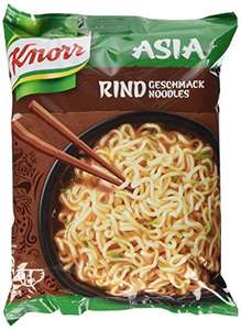 11x Knorr Asia Nudeln Rind ab 2,61 Euro, Curry ab 2,87 Euro